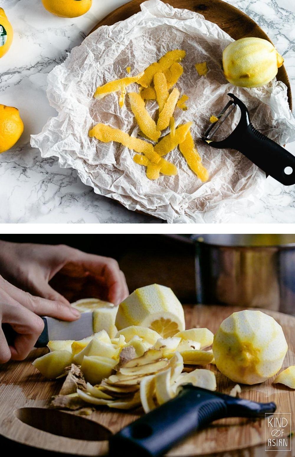 Met drie ingrediënten (zonder geleisuiker) maak je zelf deze multi-inzetbare en lang houdbare citroenmarmelade. Voeg gember, kaneel, steranijs naar smaak toe voor de variatie. Een lepeltje marmelade mengen met water en fruitpuree en je hebt een lekkere limonade. Of maak thee met een intense citroensmaak. En wat denk je van een hartige en zoetzure woksaus met de citroenmarmelade, (vegan) oestersaus en sesamolie? #citroenjam #jam #recept #aziatisch