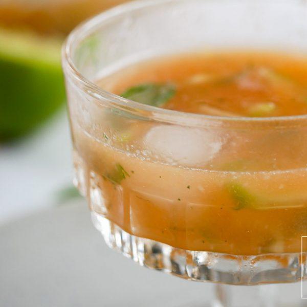 Koude soep Thais