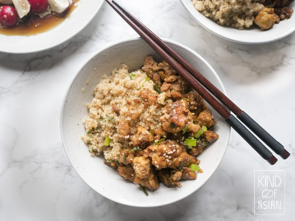 For most people, tasty preparation of tofu is still a big mystery. How do you prepare tofu like a chef? I am going to discuss several preparation methods; this time an easy recipe for meaty tofu in sweet and savoury teriyaki sauce.