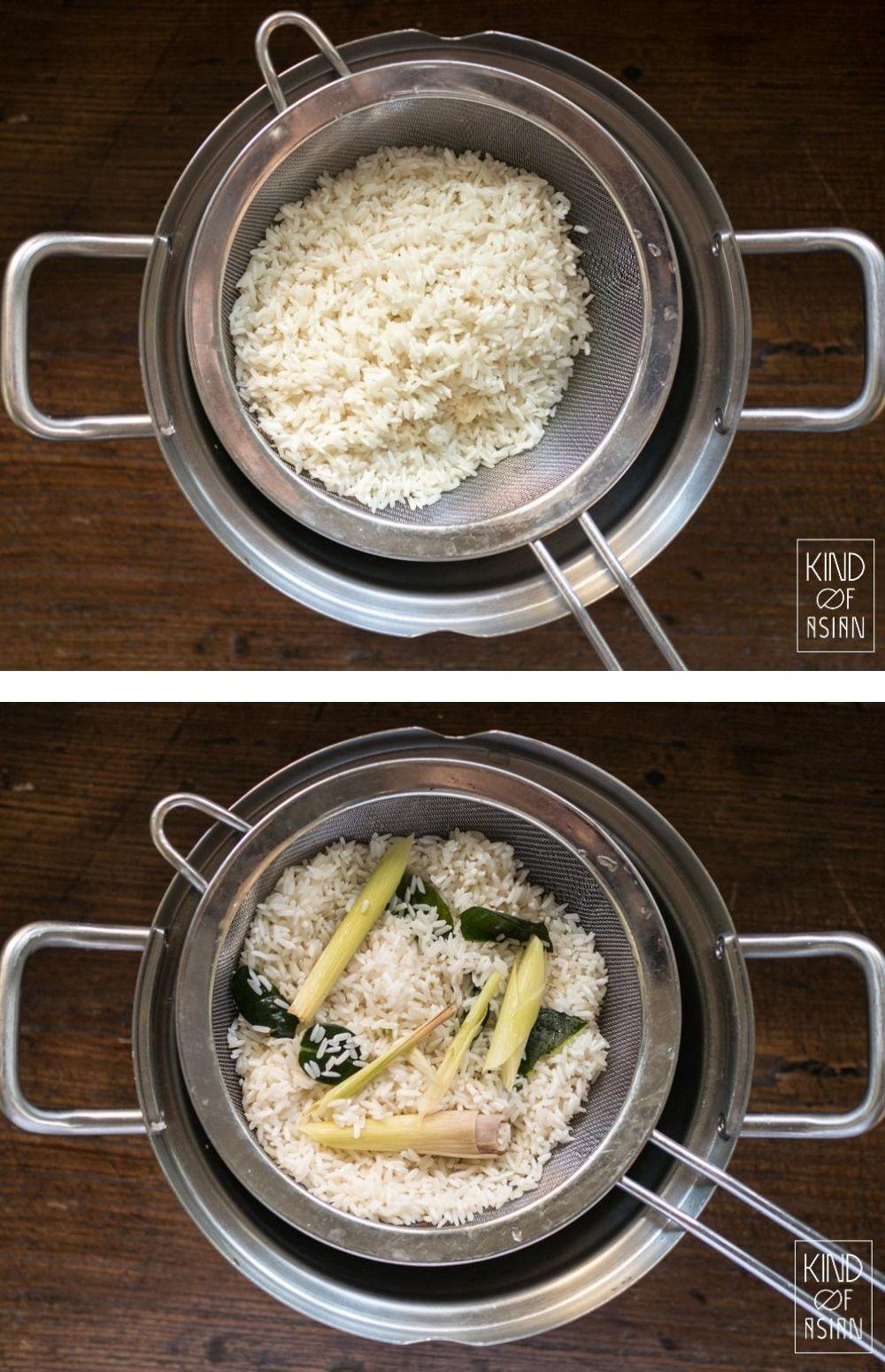 Thaise kleefrijst, ook wel sticky rice genoemd, is geurig, chewy en fluffy. En helemaal niet zo kleverig als de naam doet vermoeden. Ik leg je uit hoe je Thaise kleefrijst stoomt, op een makkelijke manier. Zolang je het maar lang genoeg laat weken kan het niet mislukken!
