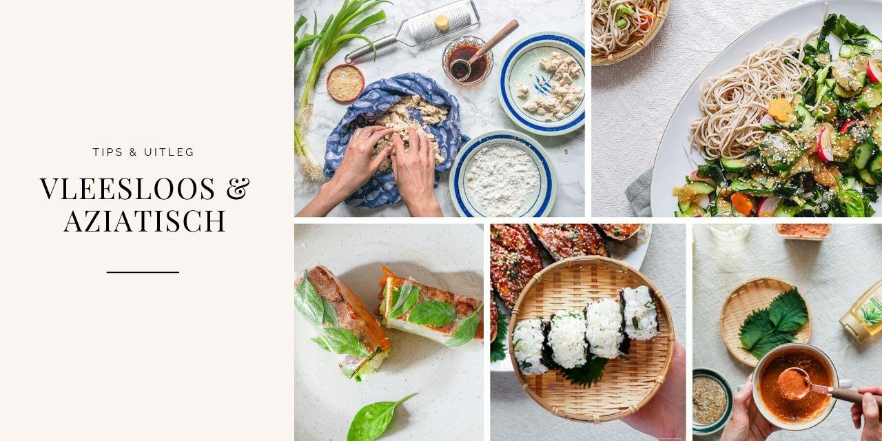 Wat moet je weten om te beginnen met vleesloos Aziatisch koken.