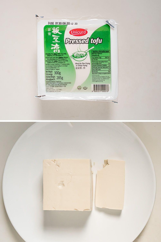 Zijden en pressed tofu zijn zacht als een lichte panna cotta en hebben een mildere sojasmaak dan de stevige tofu uit de supermarkt.