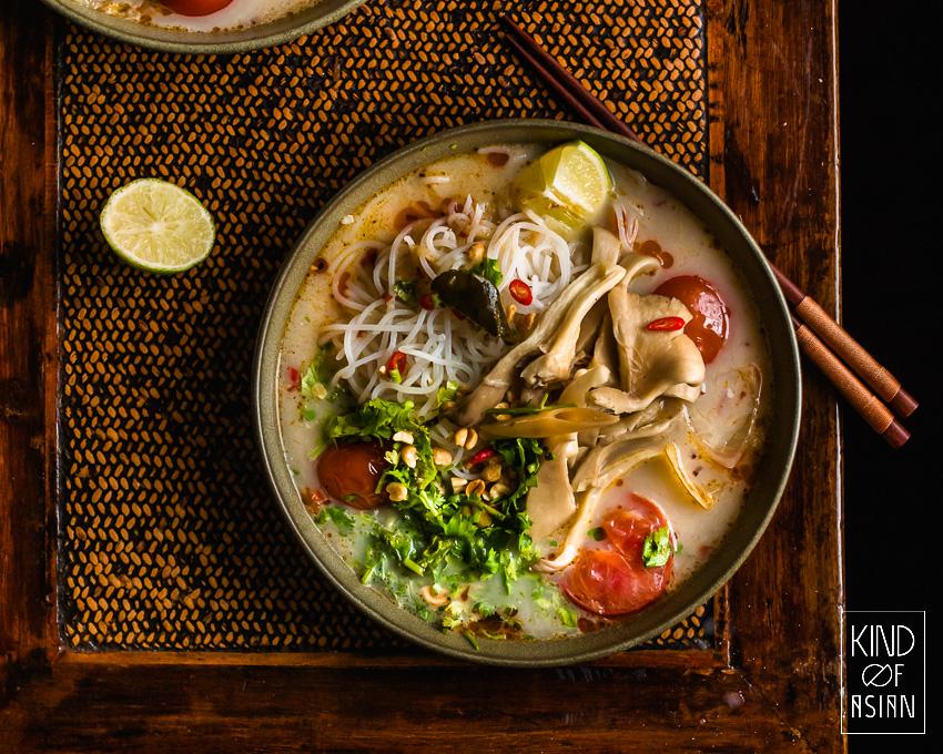 Thaise pittige en zure soep: Tom Yum