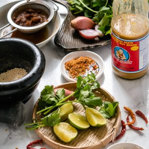 Vegan Thaise saus met tamarinde en chilipoeder