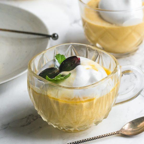 Makkelijk recept voor vegan mangopudding