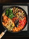 vegetarische vegan bibimbap