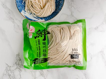 Koude Chinese vegan noedels