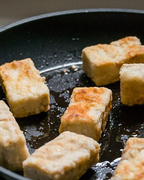 Zo bak je tofu écht krokant